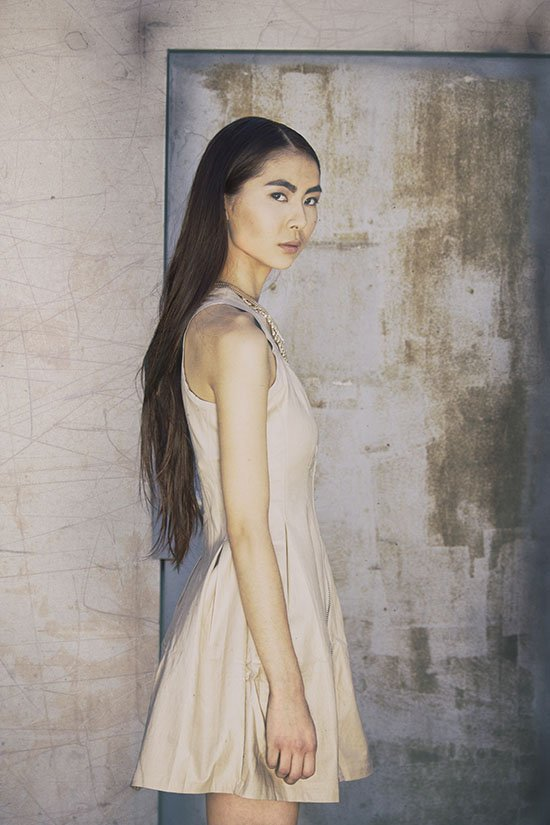 fashion photo shoot with Julie Ahn by top fashion photographer in LA and Orange County
