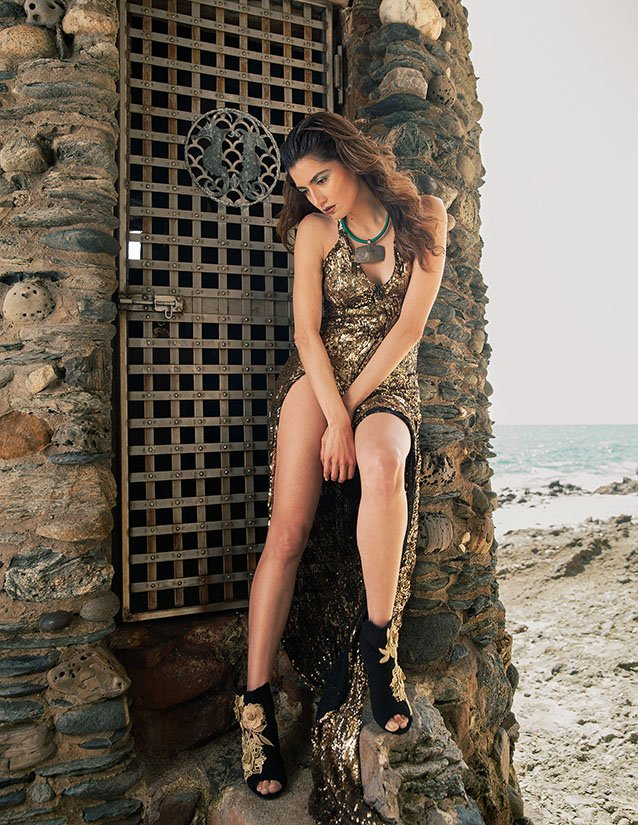Fashion Editorial Photography for LiveInStyle Magazine cover, photoshoot with actress Blanca Blanco by fashion photogrpaher Sid Rane of Orange County (OC), Los Angeles CA