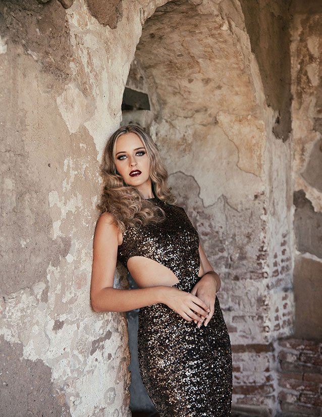 Vogue fashion Editorial with Model Taylor by top fashion photographer in LA and orange county Sid