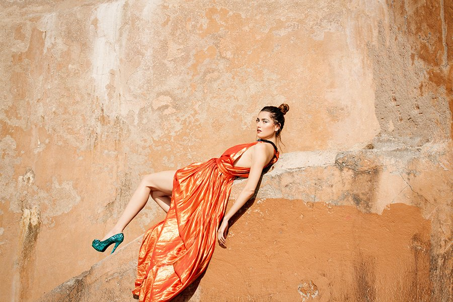 Blanca Blanco,LiveIn Magazine cover shoot by professional photographer Sid Rane of Orange County, LA