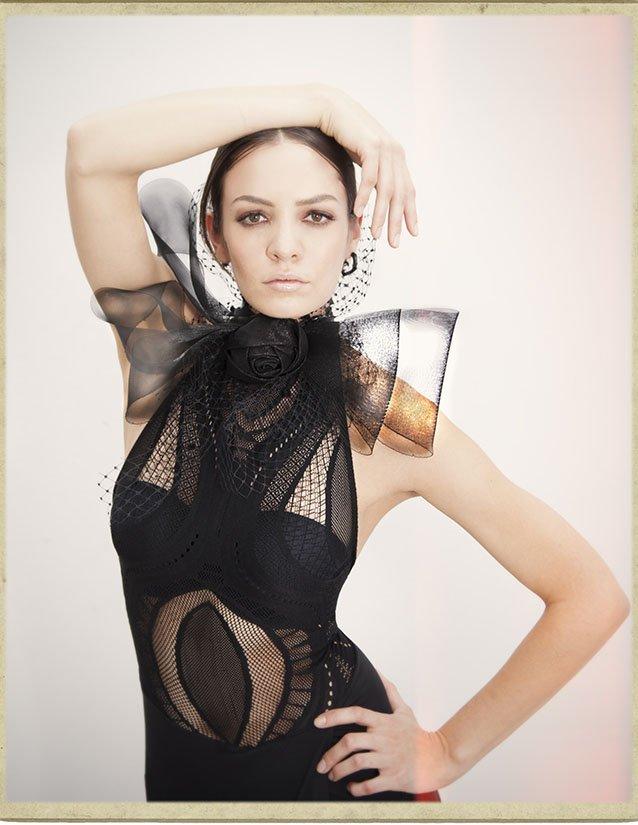 fashion Editorial with Model Gabriel Diaz for designer Xavier Othon in LA, by top fashion photographer in Orange County & LA