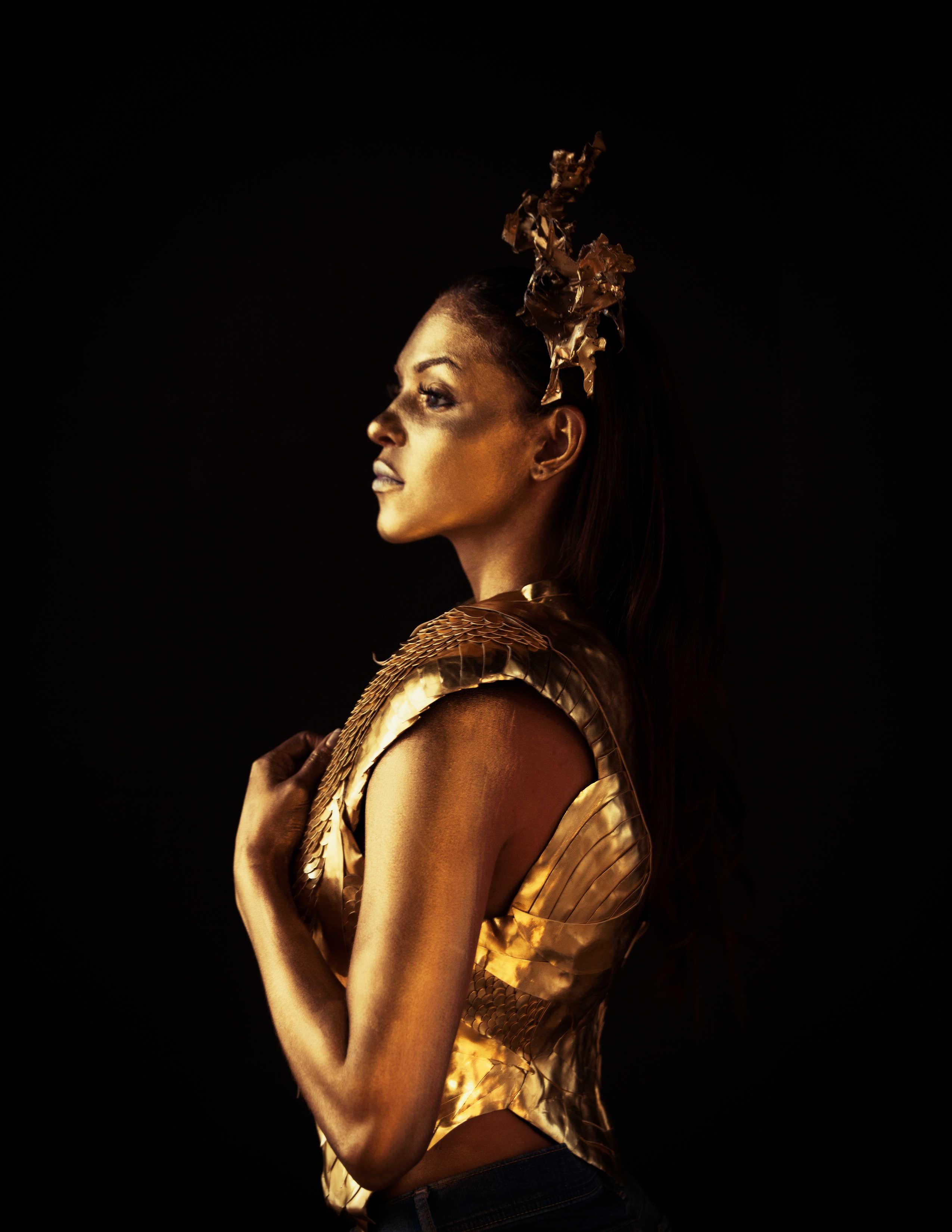"Fashion Editorial Shoot ""Warrior Princess"" by Orange County Professional Photographer Sid Rane"